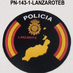 Distintivos especialidades PVC LANZAROTE BANDERA