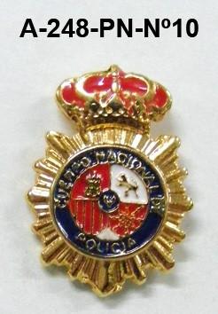 Pin Cuerpo Policia Nº 10
