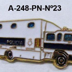 Pin Cuerpo Policia Nº 23