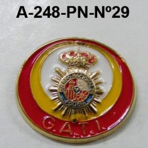 Pin Cuerpo Policia Nº 29