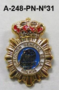 Pin Cuerpo Policia Nº 31