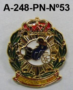 Pin Cuerpo Policia Nº 53