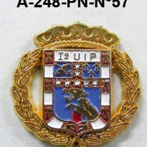 Pin Cuerpo Policia Nº 57