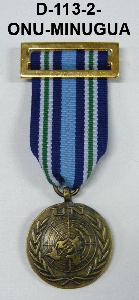 Medalla ONU MINAGUA