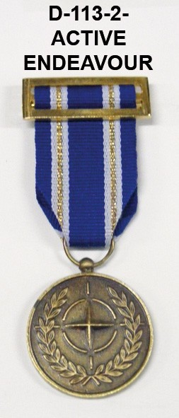 Medalla OTAN ACTIVE ENDEAVOUR