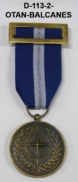 Medalla OTAN BALCANES