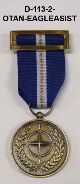 Medalla OTAN EAGLE ASSIST