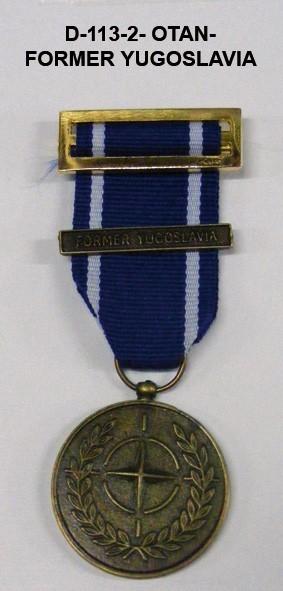 Medalla OTAN FORMER YUGOSLAVIA