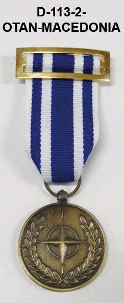 Medalla OTAN MACEDONIA