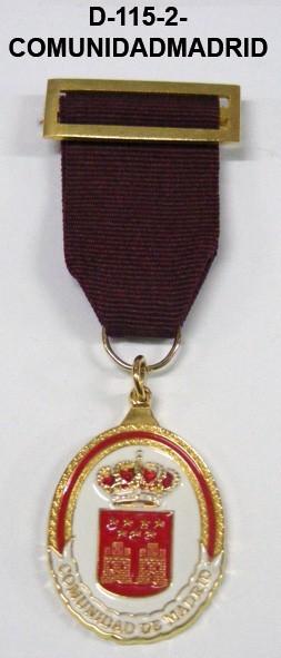 Medalla COMUNIDAD DE MADRID