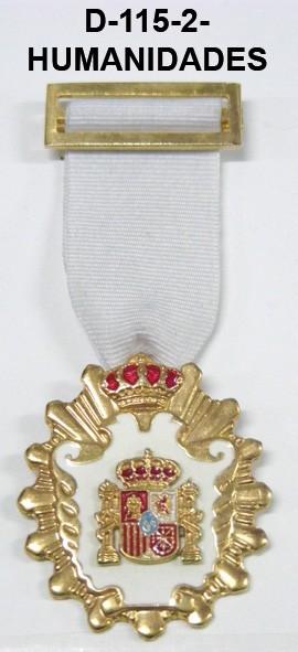 Medalla HUMANIDADES, HISTORIA Y CIENCIAS POLITICAS