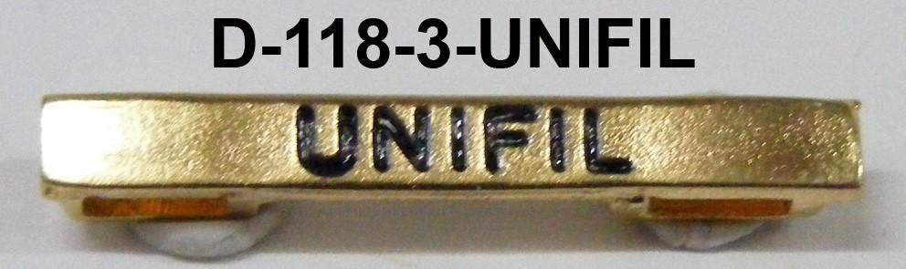 Barras UNIFIL