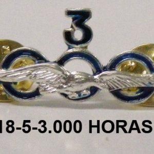 Distintivo horas de vuelo 3,000 HORAS