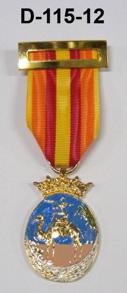 Medalla Ifni Sahara Oficiales (Colores)