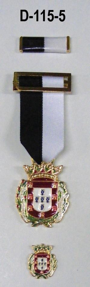 Medalla de Ceuta+Pasador+tipo pin