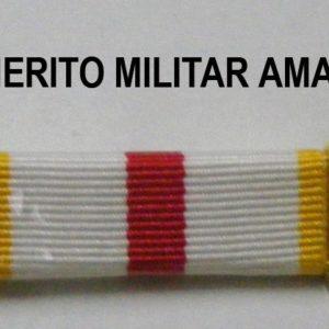 Pasador Merito Militar Amarillo
