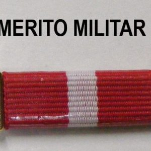 Pasador Merito Militar Rojo