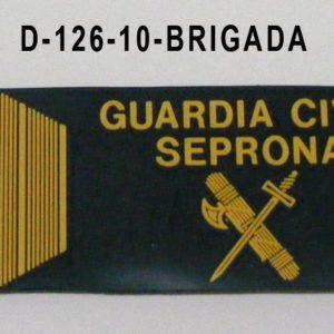 Galleta anorak PVC SEPRONA - BRIGADA