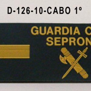 Galleta anorak PVC SEPRONA - CABO 1º