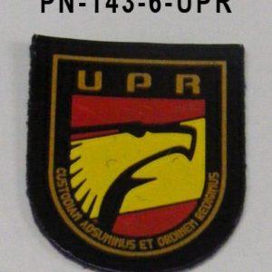 Distintivo UPR Policía Miniatura Pecho