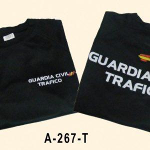 Camiseta tecnica negra HUEVO Trafico