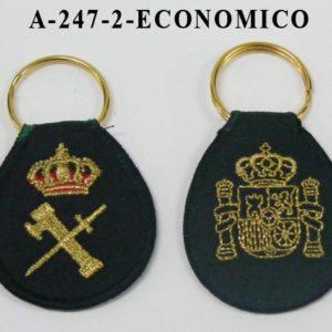 Llavero Emblema bordado Economico