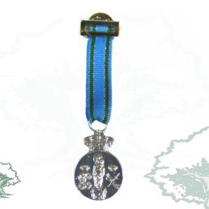 Medalla tela miniatura CENTENARIO DE LA VIRGEN DEL PILAR