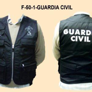 Chaleco Intervencion GUARDIA CIVIL