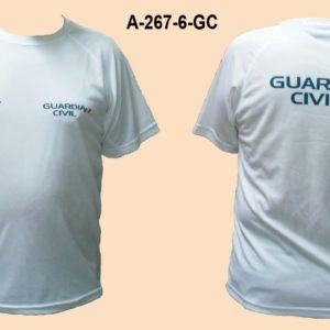 Camiseta Guardia Civil Bandera TRAZOS hombro