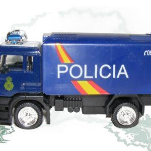 Camión Policia Nacional Plástico