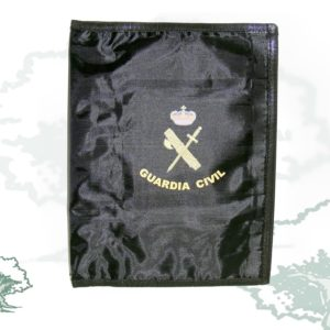 Carpeta portaboletines cuartilla CON PINZA Guardia Civil