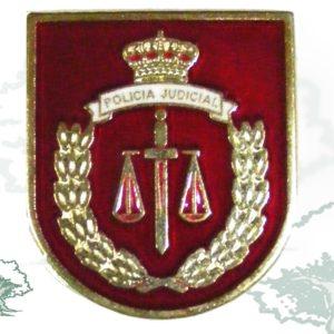 Distintivo Policia Judicial Cuerpo Nacional de Policía