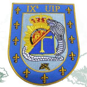 Parche PVC UIP con velcro