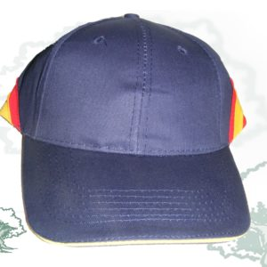 Gorra bandera de España sin bordar