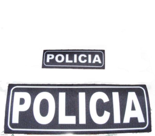 Parche chaleco Policia, Guardia Civil, Policía Local