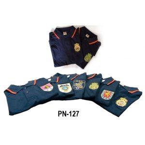 Camiseta Policia, Geo, Upr, Canino, Bordado Especialista.