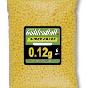 Bolas GOLDENBALL 2500 bolas 0.12 g Airsoft