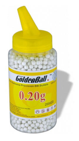 Bola GOLDEN BALL.Precision.BB 2000 0.20G