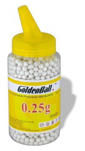Bola GOLDEN BALL.Precision.BB 2000 0.25G