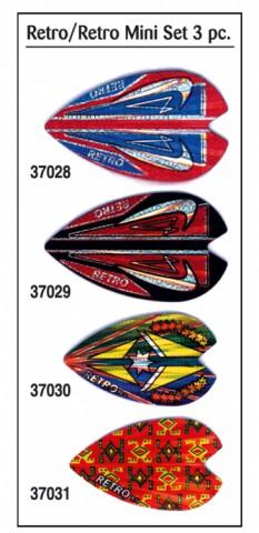 Voladores KELTIK. RETRO MINI. Set 3 pz