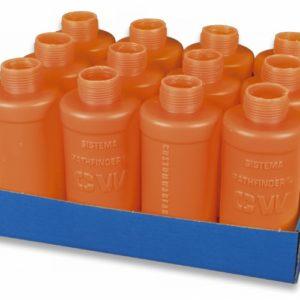 12 carcasas naranjas Pathfinder.