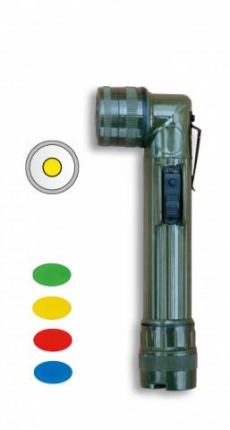 Linterna CODO. Verde.16 cm. 2 x R6