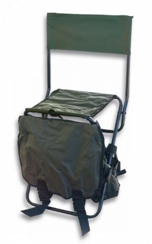 Silla DINGO Con mochila.Verde.31x23x43cm
