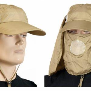 gorra sahariana color desierto. Talla M