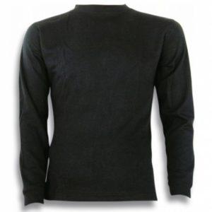 Camiseta BARBARIC TERMICA.M/L.NEGRO.TXXL