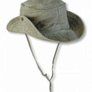 Sombrero BONIE LAVADO. Verde. Talla XL