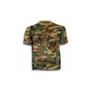 Camiseta Camuflaje Verde