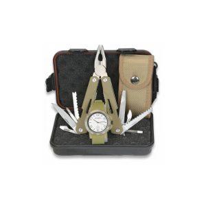 Reloj + Alicate Multiusos en caja regalo