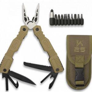 alicate coyote K25 con funda. 19 usos.
