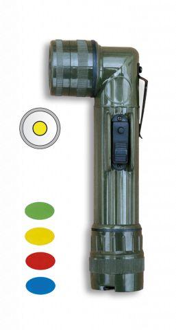 Linterna CODO. Verde.17.5 cm. 2 x R14